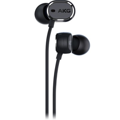 AKG N20 NC In-ear Headphones with Active Noise Cancelling - Black
