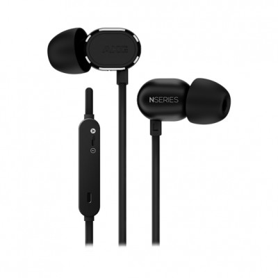 AKG N20U Reference Class In-ear Headphones with Universal Android/iOS 3-Button Remote - Black