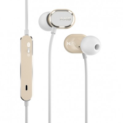 AKG N25 High-Resolution In-ear Headphone - White/Beige