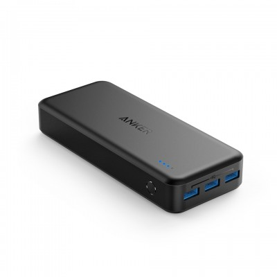 Anker PowerCore Elite 20000 PowerBank - Black