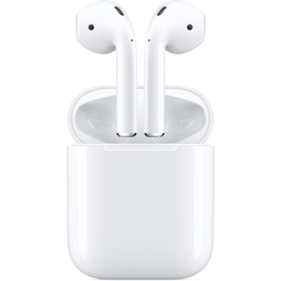 Apple Airpods MV7N2 with Charging Case - White (Airpods 2)