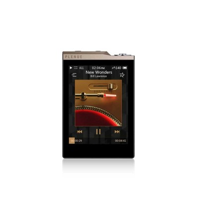 Cowon PLENUE D2 High Resolution Music Player - Gold/Black