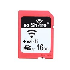 ez Share 16GB Wifi Share Class 10 SD Memory Card