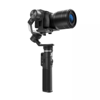 Feiyu G6 Max 3-Axis Handheld Stabilized Gimbal for Mirrorless, GoPro, Action Camera and Smartphone - Black