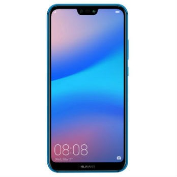 Huawei P20 lite 4GB/64GB Dual Sim with Tempered Glass Screen Protector   - Blue