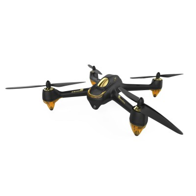 Hubsan X4 H501S FPV Brushless 2.4 GHZ/5.8GHZ RC 1080P Camera Quadcopter with Transmitter (RTF) with Standard Remote Controller FPV2 (4.3' inches LCD) - Black