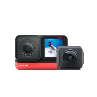 Insta360 ONE R Twin Edition Action Camera - Black