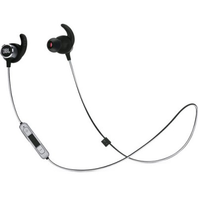 JBL Reflect Mini 2 Sweatproof Wireless Sport In-Ear Headphones - Black