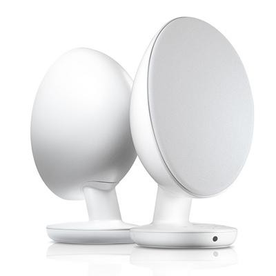 KEF EGG Wireless Digital Music System - Pure white