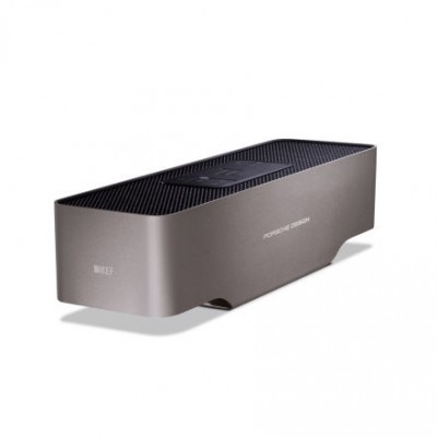 KEF Porsche Design GRAVITY ONE Bluetooth Speaker - Titanium Silver
