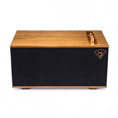 Klipsch The Three - Medium-size Heritage Bluetooth Speakers - Walnut