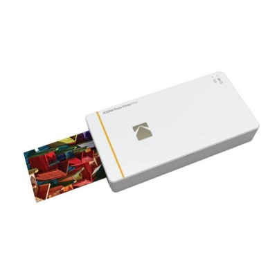 Kodak PM-210 Photo Printer Mini for iPhone and Android - White