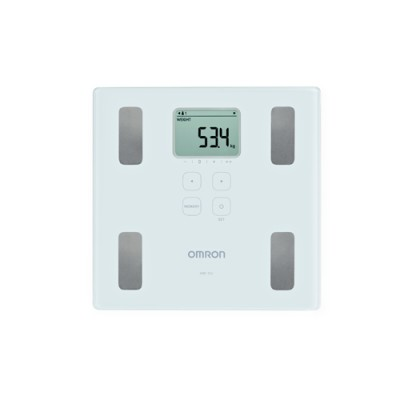 Omron HBF-214 Body Composition Monitor - White