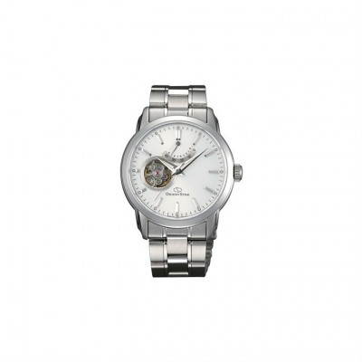 Orient Star 39mm Mechanical Contemporary Metal Strap Watch SDA02002W0