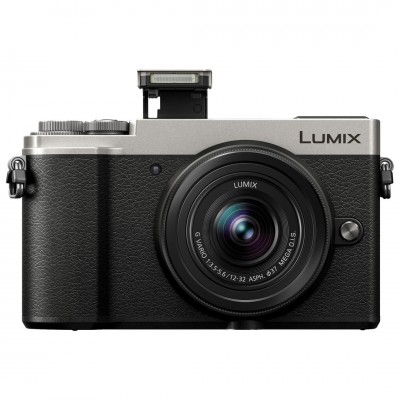 Panasonic Lumix DMC GX9K with 12-32mm F3.5-5.6 Lens Digital Camera - Silver (PAL)