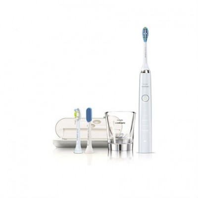 Philips Sonicare DiamondClean Sonic Electric Toothbrush HX9304/08 - White