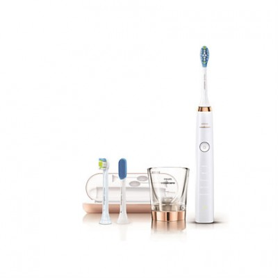 Philips Sonicare DiamondClean Sonic Electric Toothbrush HX9307/08 - Rose Gold