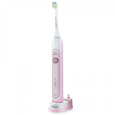 Philips Sonicare HealthyWhite Sonic Electric Toothbrush HX6763/43 - Pink