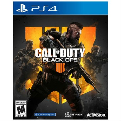 PS4 Game Call of Duty: Black Ops 4 - Standard Edition for PlayStation 4 [English Only]
