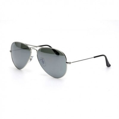 Ray-Ban Avator Mirror Sunglasses RB3025 W3277 Size 58 - Silver