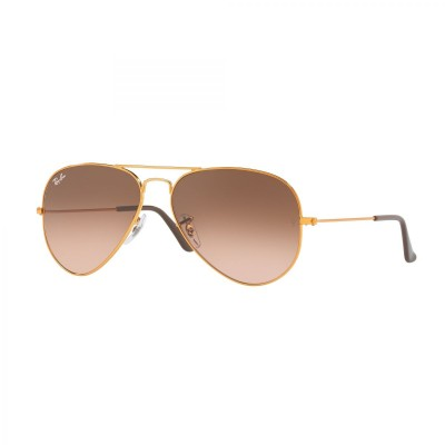 Ray-Ban Aviator Sunglasses RB3025 9001A5 Size 55 - Bronze Copper