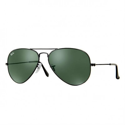 Ray-Ban Aviator Sunglasses RB3025 L2823 Size 58 - Black