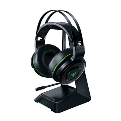 Razer Thresher Ultimate Wireless Gaming Headset with Retractable Microphone for Xbox One - Black