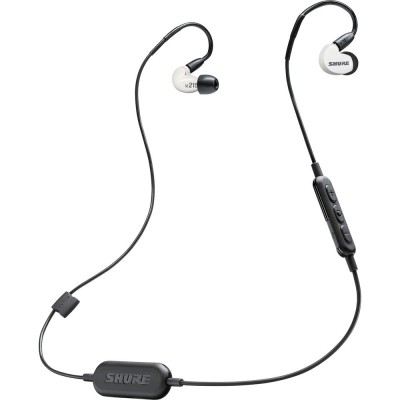 Shure SE215-BT1 Wireless Sound Isolating Earphones - White (SE215SPE-W-BT1)