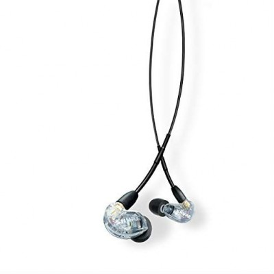 Shure SE215-CL-UNI Sound Isolating Earphones (Universal 3.5mm remote + mic for Apple and Android) - Clear