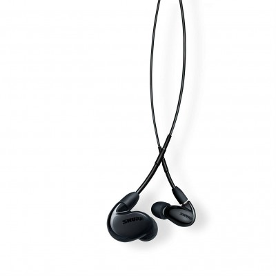 Shure SE846-K+BT1 Wireless Sound Isolating Earphones with Bluetooth Enabled Communication Cable - Black