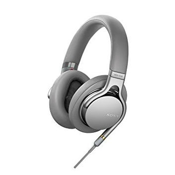 Sony MDR-1AM2 High-Resolution Over-Ear Headphones - Silver