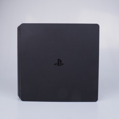 Sony PlayStation 4 (PS4 Slim) 500GB with 1pc Wireless Controller with Red Dead Redemption 2 Standard Edition [Game: English Only] - Jet Black (A region Blu-ray)