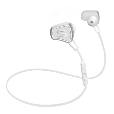 Soul Electronics Impact Wireless High Efficiency Earphones with Bluetooth - White
