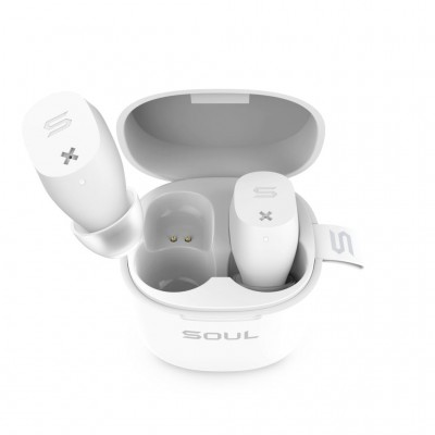 Soul Electronics ST-XX True Wireless Earphones - White