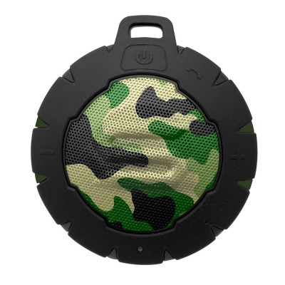 Soul Electronics Storm Portable Waterproof Wireless Bluetooth Speaker - Camo Green