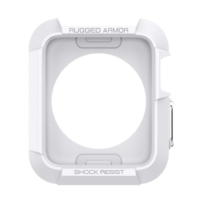 Spigen SGP Rugged Armor Case for Apple Watch Series 3/2/1 (42mm) - White