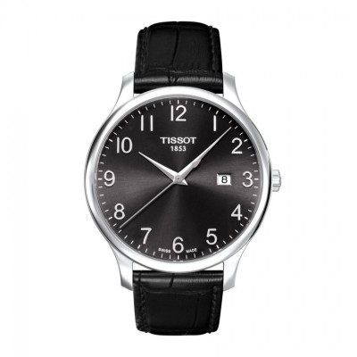 Tissot T-Tradition T063.610.16.052.00 Men's Watch - Black