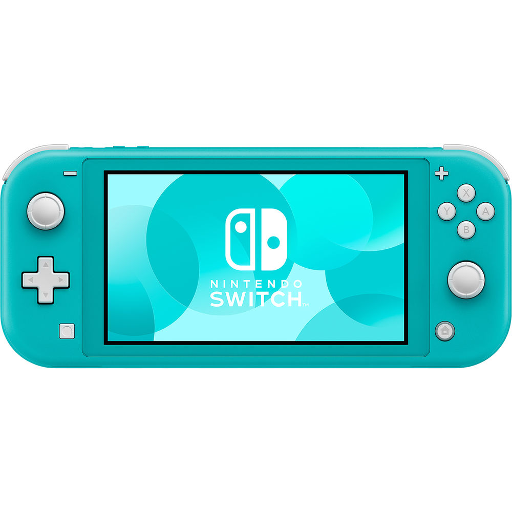 Drones & Gaming Nintendo Switch Lite - Turquoise with Generic Tempered Glass Screen Protector